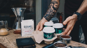 A new recycling service for coffee cups