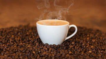 What's the ideal taste temperature for coffee?