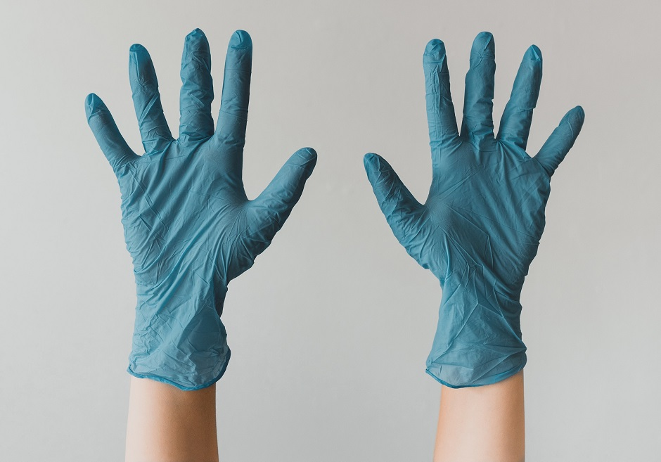 coffee shop safety gloves