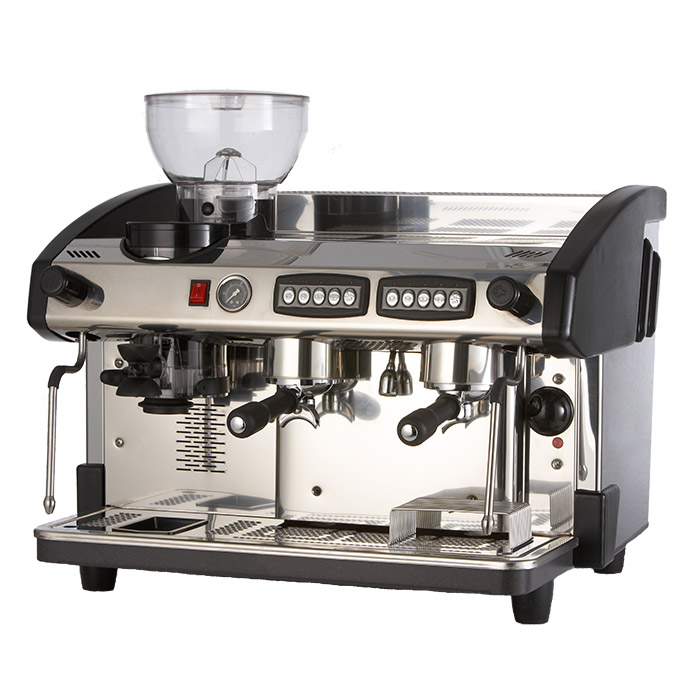 NC2 Espresso Machine with Coffee Bean Grinder